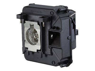One Year Warranty! Epson V13H010L68 / ELPLP68 Front Projection Lamp With Housing