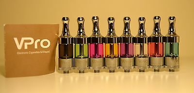 2014 GENUINE VPro PROTANK 2 II  Pro Tank Clearomizer Dual Coil Atomizer 8 colors