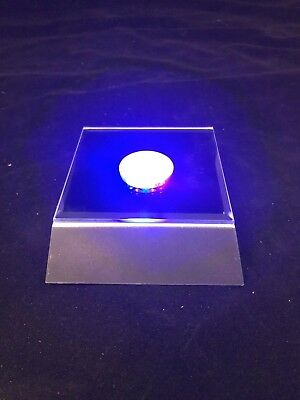 NEW- 6X Round LED Light Base Multi Color Light Base ( With Several Functions)