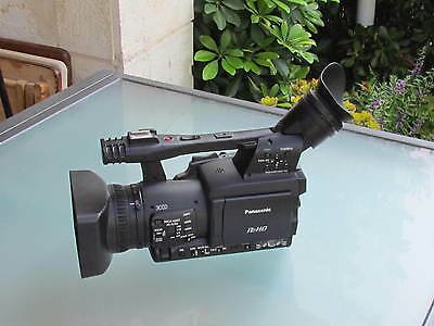 PANASONIC MEMORY CARD CAMERA AND RECORDER MODEL AG-HPX174ER