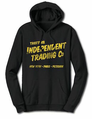 Only Fools and Horses Trotters Independent Traders OFFICIAL Hoodie Black Yellow