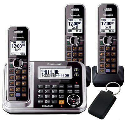 Panasonic KX-TG7893AZS Cordless Phones (TRIPLE)(AUST STK)