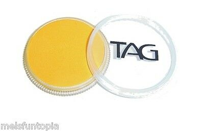 TAG Body Art 32g Regular Golden Orange Professional Face and Body Paint -Make up