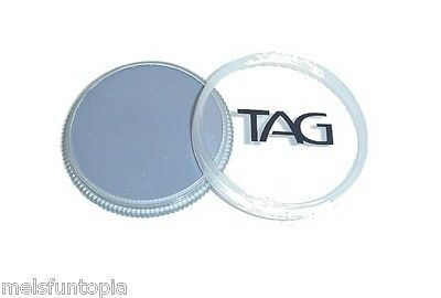 TAG Body Art 32g Regular Soft Grey Professional Face and Body Paint -Make up
