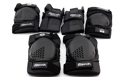 6 Piece SKATE Protection KIT Knee Pads Wrist, Elbow Pads Skateboard Scooter