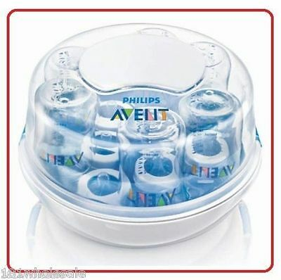 ❤ Philips AVENT Express II Microwave Steam Sterilizer Steriliser Baby BPA Free ❤