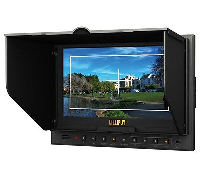 "Lilliput Advanced 7"" Monitor HDMI Input Peaking Filter for DSLR Cameras 5D-II/P"