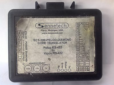 SENNETECH SCT-100 Pelco-Diamond Code Translator