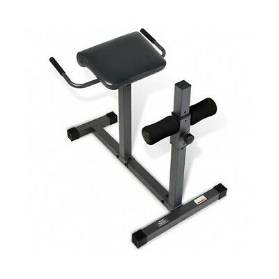 Hyperextension Bench Roman Chair Sit Up Board Exercise Fitness Workout Home Gym