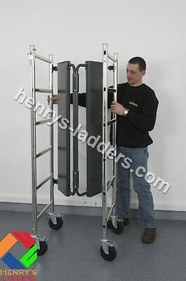 Top 3 Mini Folding Platform - 3m | Mobile Aluminium Work Scaffold Platform