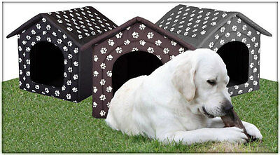 Extra Large XXL Dogs Kennel Big House Pet Cat Dog Bed Fabric