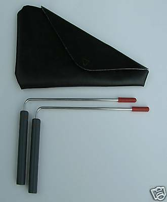 Premium  L-rods  Dowsing Rods  with Case