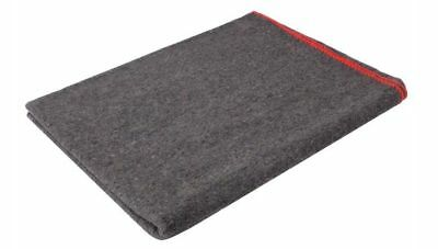 """Rothco Grey Wool Survival Emergency Rescue Blanket 60"""" x 80"""""""