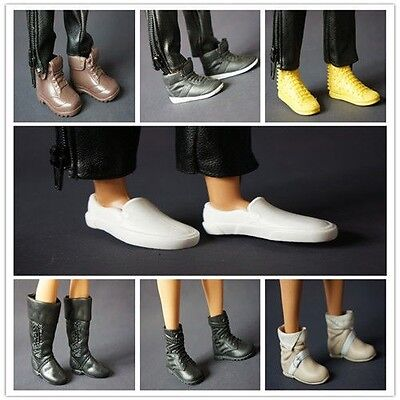 2014 new handmade nice 5pairs shoes for barbies boy friend ken dol C101