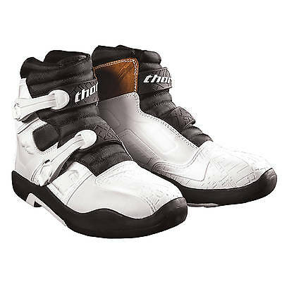 Thor NEW 2017 Mx Blitz LS White Shorty Mini Dirt Bike CE Motocross Short Boots
