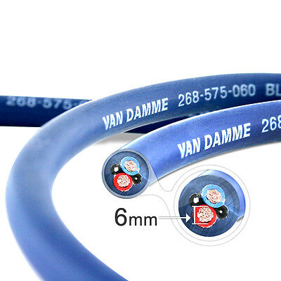 Van Damme Blue Series Studio Grade 2 x 6mm Lautsprecherkabel