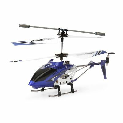 Syma S107G Blue 3-Channel 3.5CH Mini Remote Control RC Helicopter Gyro Genuine