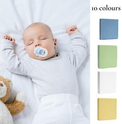 Terry Towelling Fitted Sheet 140x70 Nursery Baby Cot Cot Bed Mattress Cover