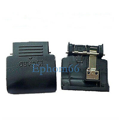 For Nikon D5100 SD Card Chamber Door Cover Cap Lid With Spring And Metal  Plate