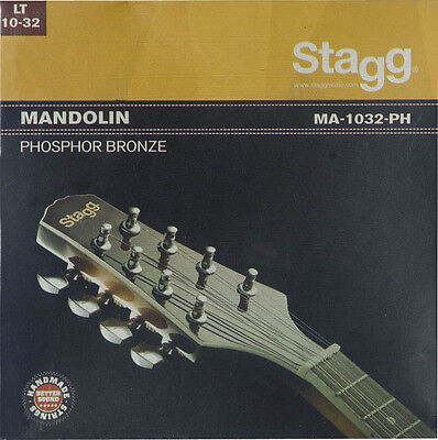 Stagg Phosphor Bronze Strings For a Mandolin