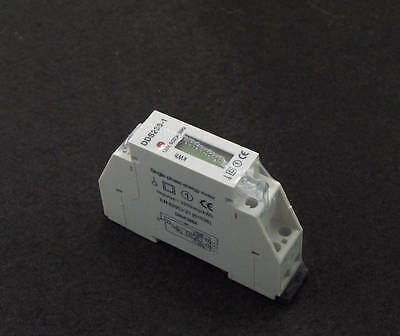 1PCS 5(32A) 120VAC Single-phase DIN-rail type Kilowatt Hour kwh Meter 60Hz