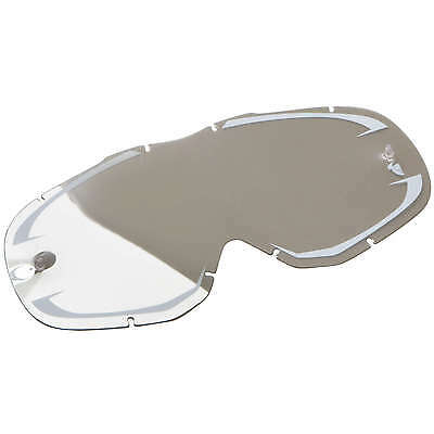 Thor NEW Mx Ally Goggles Motocross White Mirror Tinted Replacement Goggle Lens