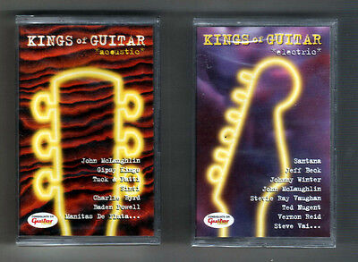 Musicassette Cassette MC - Kings of Guitar *acoustic*electric*