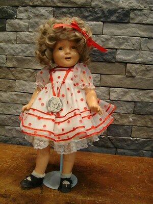 """Vintage Early Ideal Shirley Temple Composition Doll 20"""" 1934"""