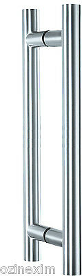 Door Pull Handle Set Satin 304 Grade Stainless Steel (High Quality)