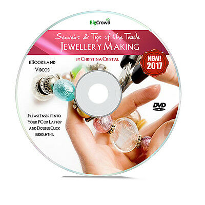 How To Make World Class Jewellery & Start A Home Business - VIDEO TUTORIALS DVD