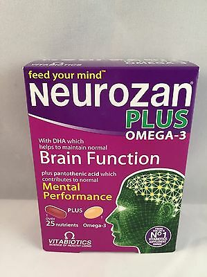 Vitabiotics Neurozan Plus 56 Tablets/Capsules 2x28 Dual Pack