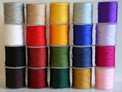 30mtr Macrame Kumihimo Shamballa Friendship Braided Nylon Cord Thread 0.8mm