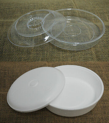 Plastic Styrofoam Tortilla or Food Warmer Take Out Container Storage Party Ware