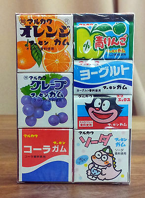 Japan Bubble Gum marukawaseika 7piece variety assortment