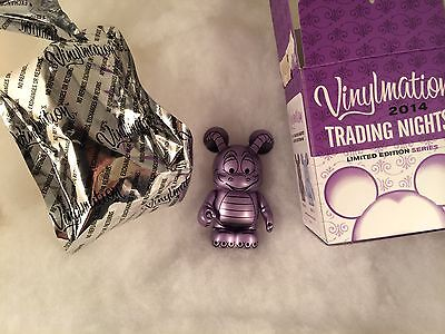 ARTIST SIGNED! Imagination Gala Vinylmation Trade Day - Figment Non-varriant