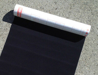 Black Glove Box Felt Self Adhesive Backing 45cm wide 50cm long Quality Product