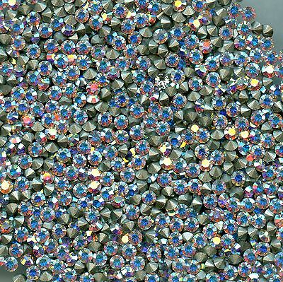 1028 PP20 CI *** 40 STRASS SWAROVSKI FOND CONIQUE 2,65mm CRYSTAL AB F