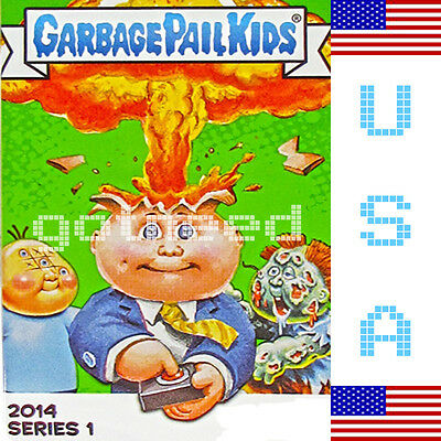 2014 USA Garbage Pail Kids Series 1 COMPLETE Set - 132 Card Set
