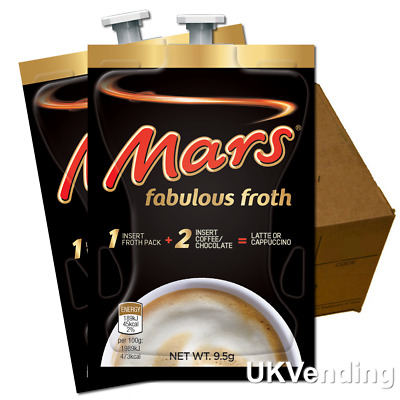 Mars Fabulous Froth Flavia 80 Drinks