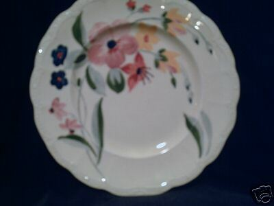 Ridgways Hand Painted Bedford Ware Dinner Plate England