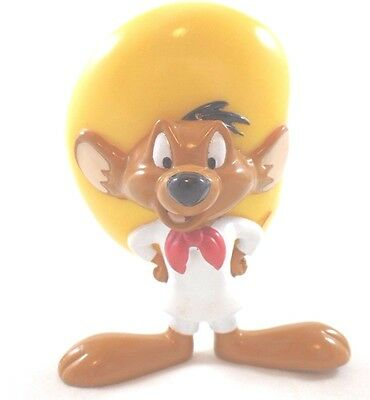 WB PVC Speedy Gonzales LG Toy  Looney Toons Warner Brothers Lot Set Topper '97