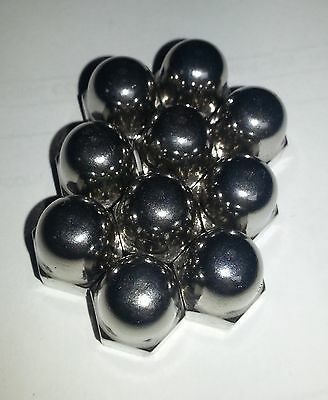 M10 A2 STAINLESS STEEL HEX DOME ACORN NUT M10x1.5 - 17 AF PACK OF 10