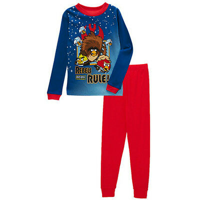 New Gaming Angry Birds Boys Blue and Red Star Wars Rebels Rule Pyjamas Pajamas
