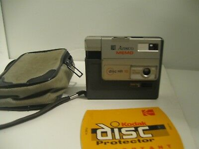 Vintage Ansco Memo Disc Camera HR 10 + Case
