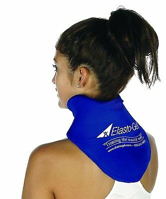 Gel Elasto Cervical Collar Hot Cold Neck Pain Therapy Wrap Relief Microwavable