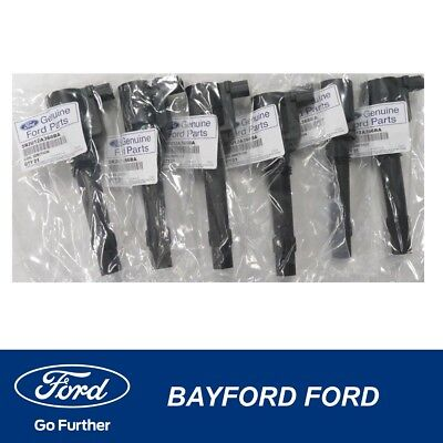 Genuine Ford Ba Bf Falcon 6 Cyl Inc Xr6 & Turbo Ignition Coil Coils (6)