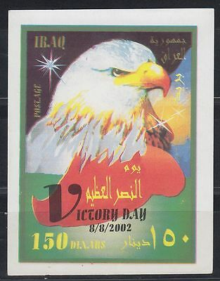Irak Iraq 2002 ** Bl.105 Tag des Sieges Victory Day Vögel Birds Adler Eagle