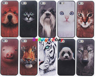 20PCS/L Mixed Animal Design Deluxe Hard Cover Case for iPhone 6