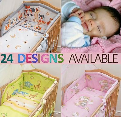 5 Piece Baby Bedding Set  / Pillowcase / Duvet / Quilt Cover/ Nursery Cot Bumper