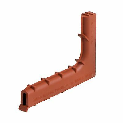 5 x Terracotta Brick Tunnel Weep Vents / Low Profile Peep Vents for Cavity Walls
